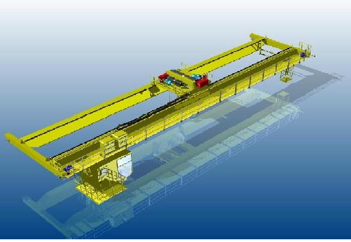 欧式桥式双梁起重机dvd导航配件图片